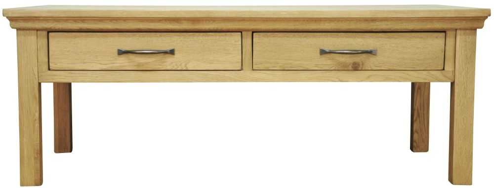 Weardale Oak Coffee Table - Large