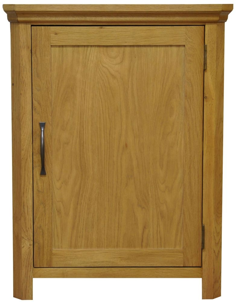 Weardale Oak Cupboard - Corner