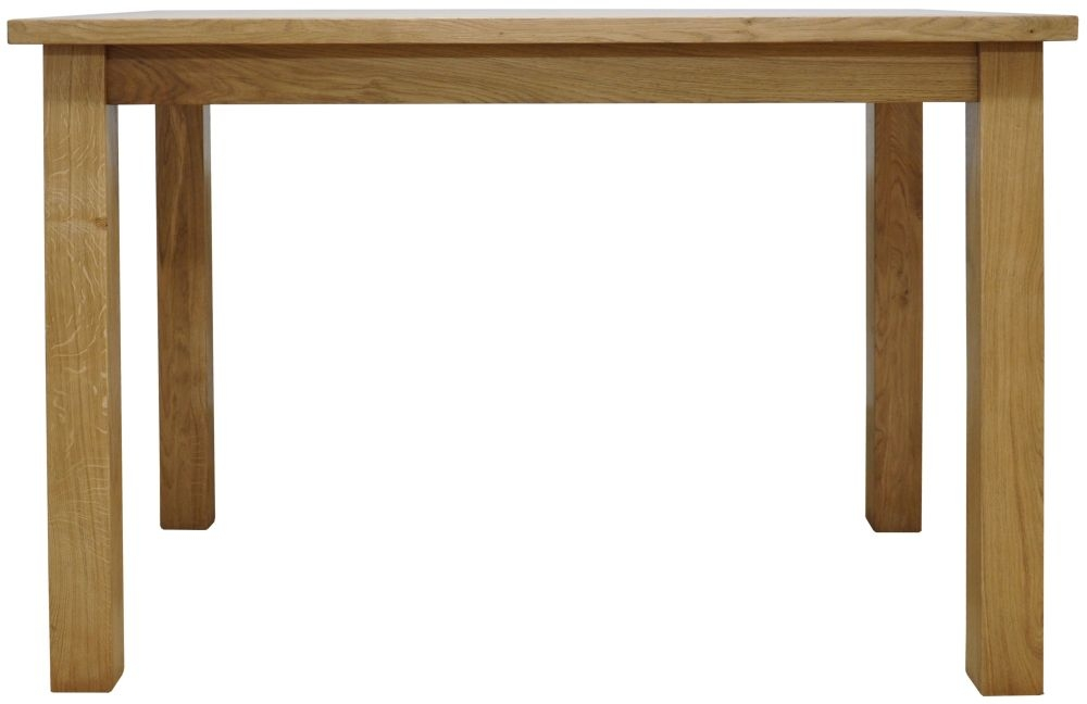 Weardale Oak Dining Table - Large Fixed Top