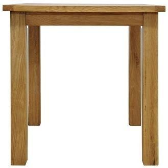 Weardale Oak Dining Table - Small Fixed Top