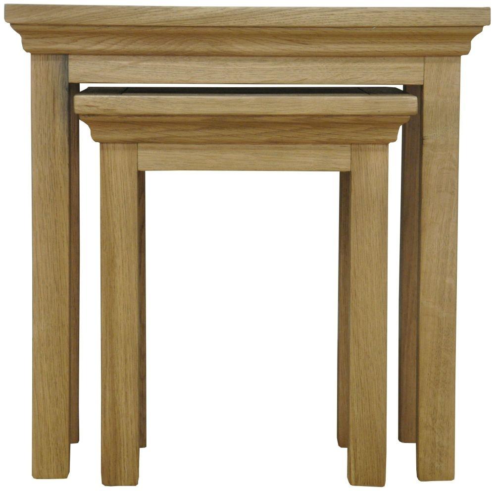 Weardale Oak Nest of 2 Tables
