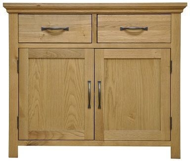 Weardale Oak Sideboard - 2 Door