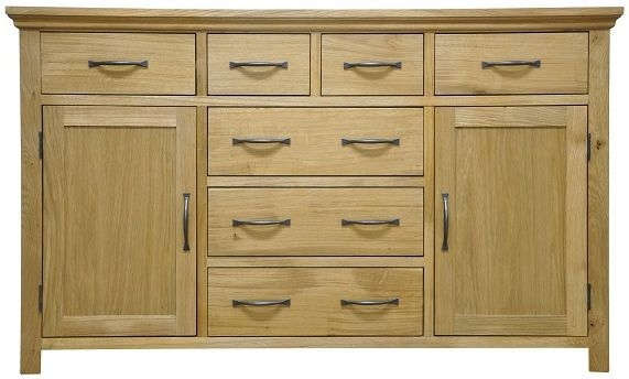 Weardale Oak Sideboard - Large