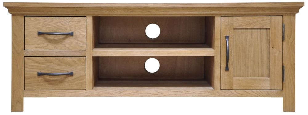 Weardale Oak TV Unit - Large