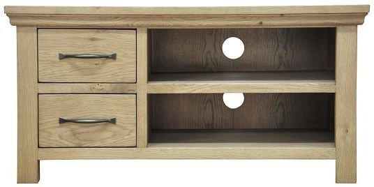 Weardale Oak TV Unit - Standard
