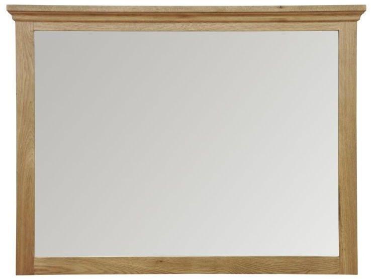 Weardale Oak Wall Mirror - Large