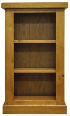 Wilton Oak Bookcase - Small Narrow