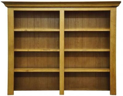 Wilton Oak Bookcase Top - Wide