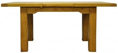 Wilton Oak Dining Table - 1.3m Butterfly Extending