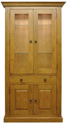 Wilton Oak Display Cabinet