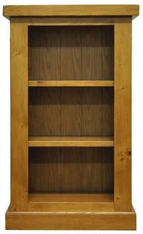 Wilton Oak Bookcase - Small Narrow