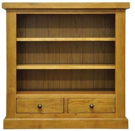 Wilton Oak Bookcase - Small Wide