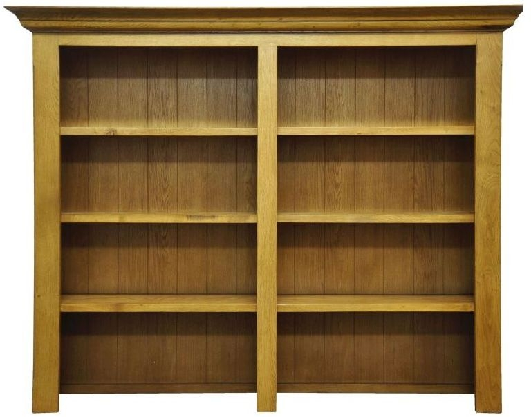 Wilton Oak Bookcase Top - Wide