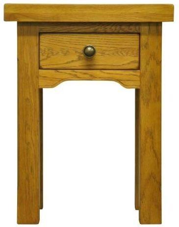 Wilton Oak Side Table