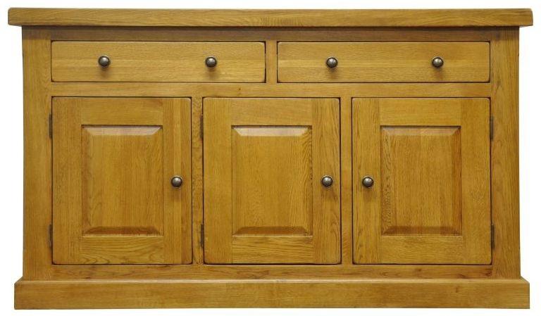 Wilton Oak Sideboard - 3 Door 2 Drawer
