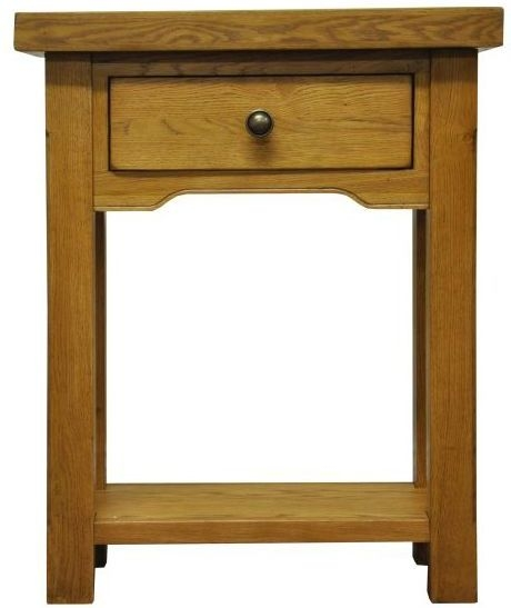 Wilton Oak Telephone Table