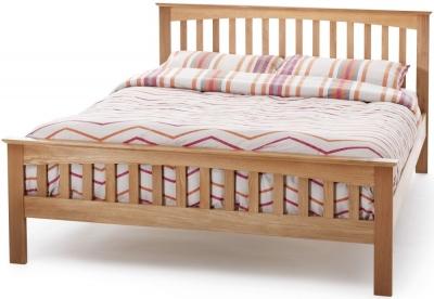 Serene Windsor Oak Bed