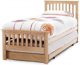 Serene Windsor Oak Guest Bed