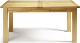 Serene Bromley Oak Dining Table - Extending