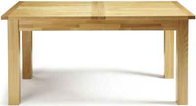 Serene Bromley Oak Extending Dining Table