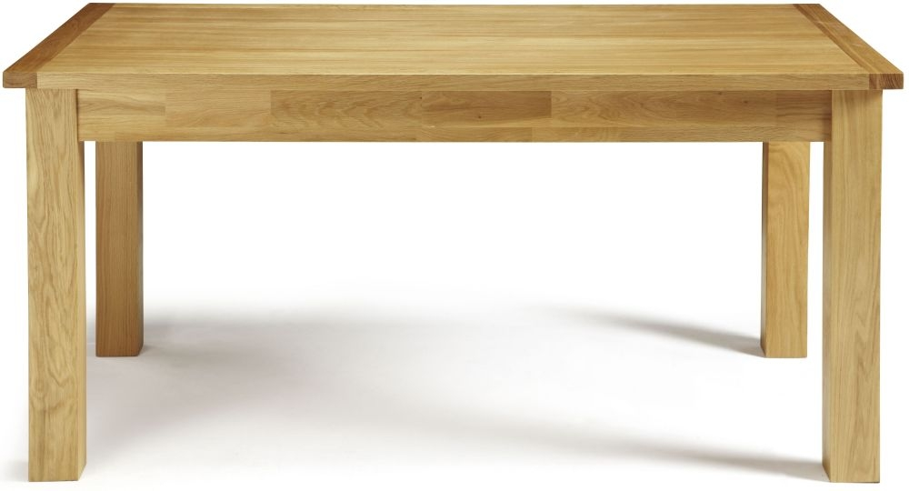 Serene Bromley Oak Dining Table - Fixed Top