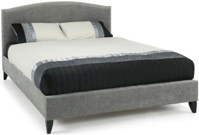 Serene Charlotte Steel Fabric 6ft Bed