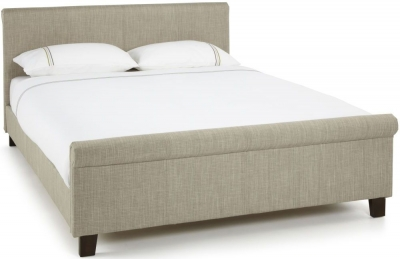 Serene Hazel Linen Fabric Bed