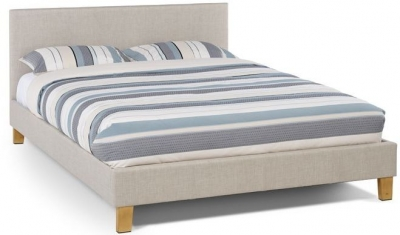 Serene Sophia Linen Fabric Bed