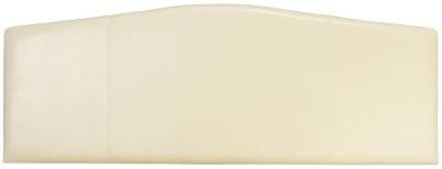 Serene Rosa Cream Faux Leather Headboard
