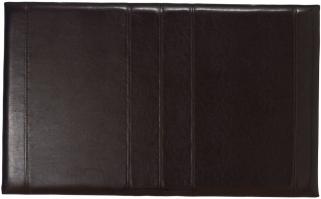 Serene Carmela Brown Faux Leather Headboard - 3ft Single