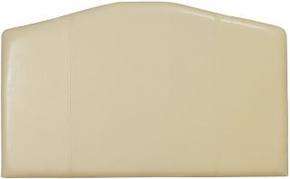 Serene Rosa Cream Faux Leather Headboard - 3ft Single