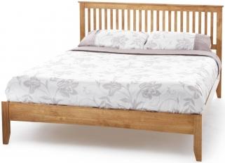 Serene Hevea Wood Freya Honey Oak Bed