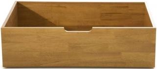 Serene Hevea Wood Macy Honey Oak Drawers