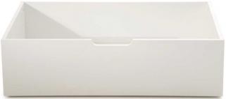 Serene Hevea Wood Macy Opal White Drawers
