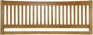 Serene Mya Hevea Wood Honey Oak Headboard
