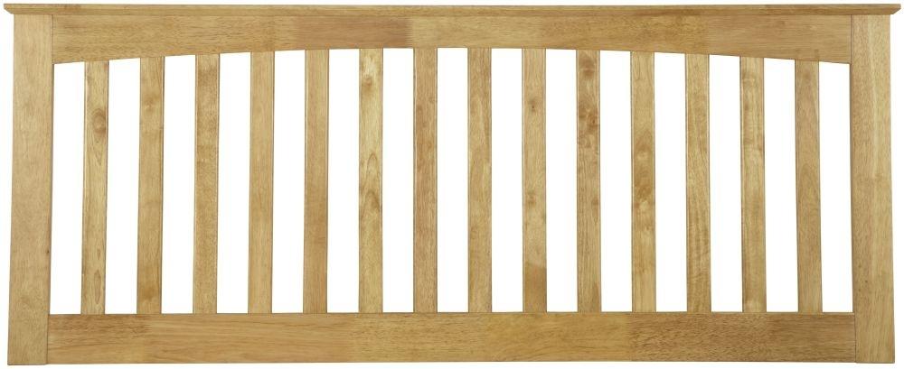 Serene Hevea Wood Amelia Honey Oak Headboard
