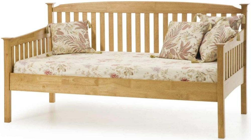 Serene Hevea Wood Eleanor Honey Oak Day Bed