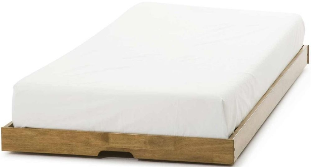 Serene Hevea Wood Eleanor Honey Oak Guest Bed Trundle Only