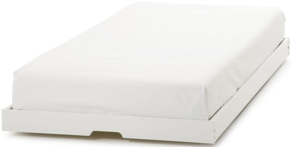 Serene Hevea Wood Grace Opal White Guest Bed Trundle Only