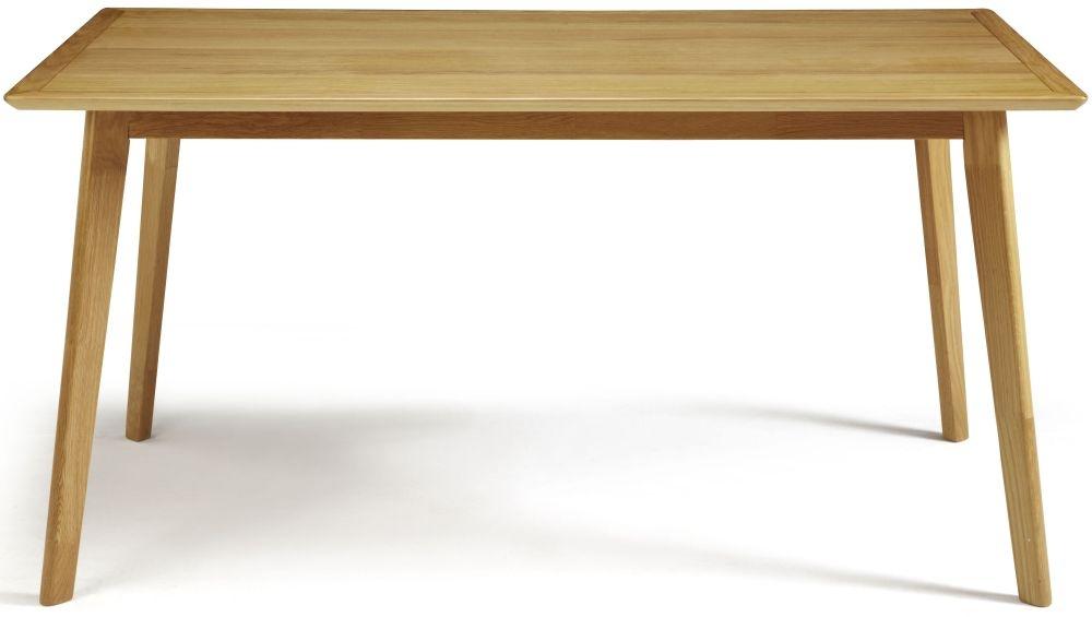 Serene Hillingdon Oak Dining Table - 150cm Fixed Top