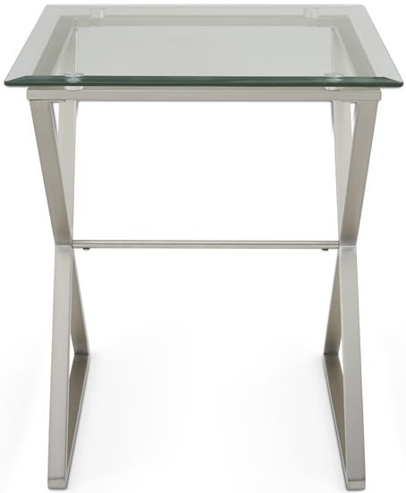 Serene Kiana Glass Lamp Table