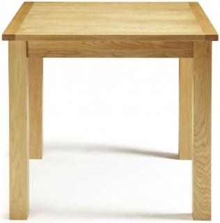 Serene Lambeth Oak Dining Table - Fixed Top
