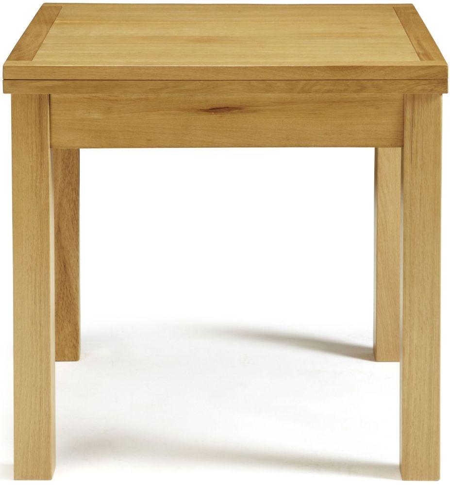 Buy serene lambeth oak dining table extending online for Dining table online
