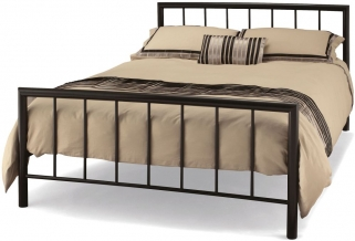 Serene Modena Black Metal Bed