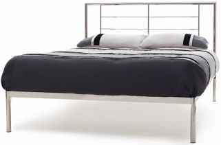 Serene Zeus Nickel Metal Bed