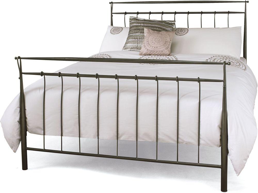 Elizabeth Grey Titanium Bed