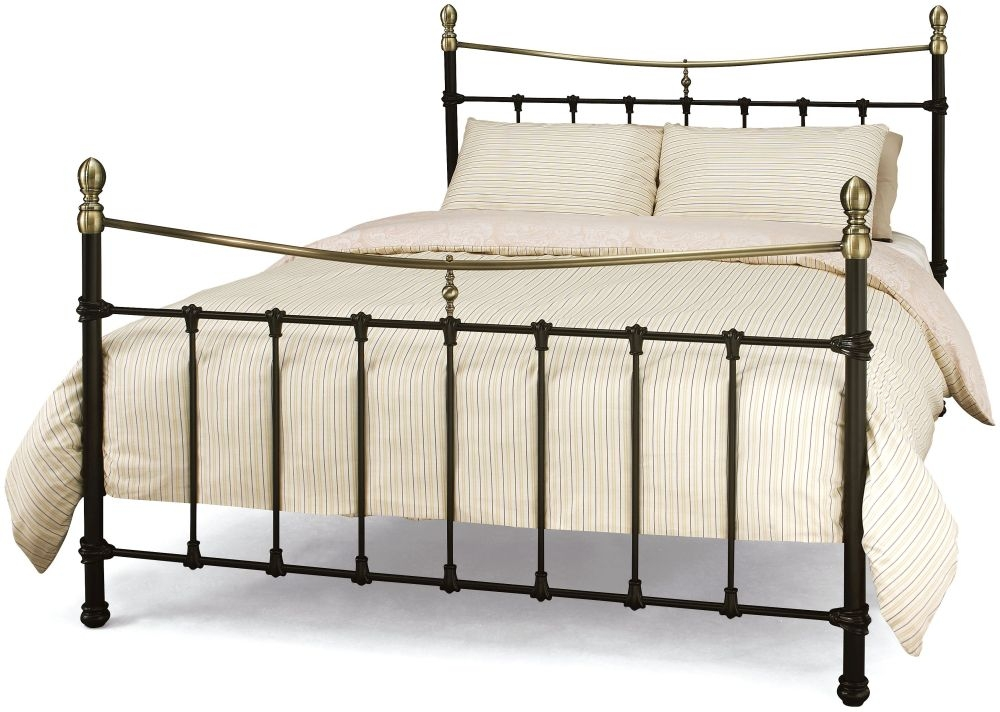 Serene Edwardian ll Black Metal Bed