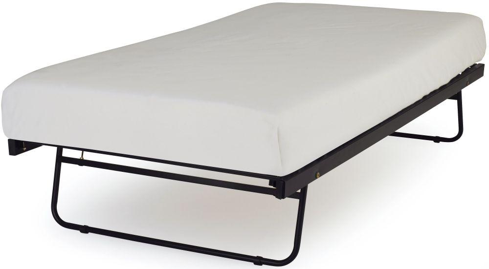 Serene Black Metal Guest Bed