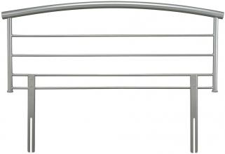 Serene Brennington Silver Metal Headboard