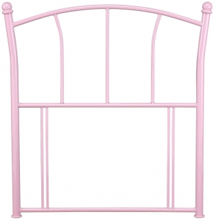 Serene Penny 3ft Pink Metal Headboard